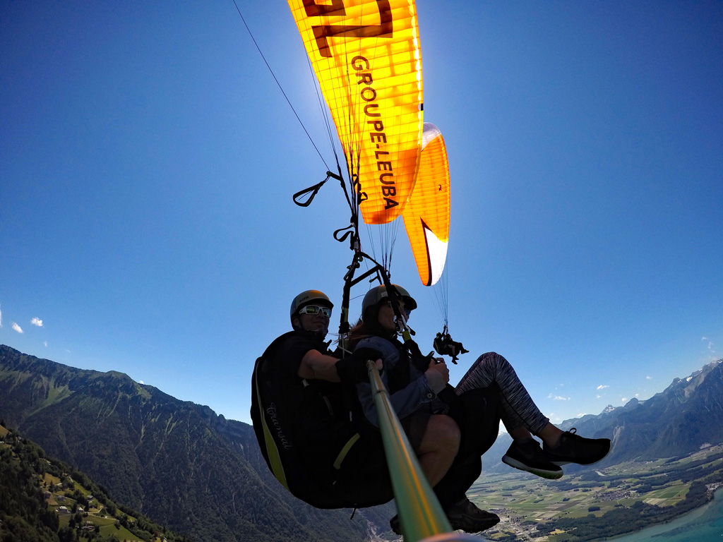 Parapente vol biplace